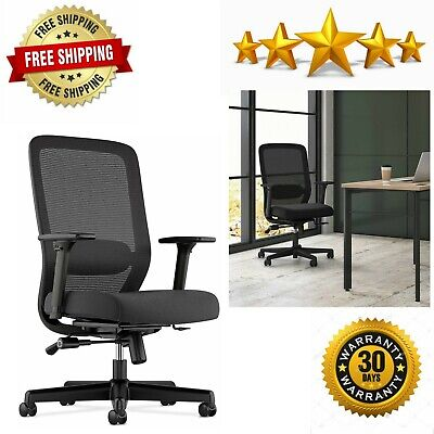 Exposure Mesh Task Computer Chair With 2-way Adjustable Arms For Office Desk