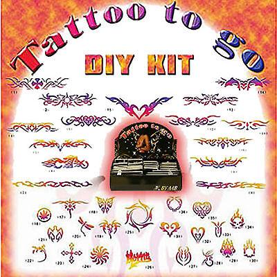 Henna Mehndi Airbrush Body Glitter Art Temporary Tattoo S...