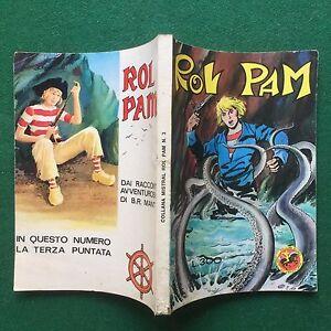 COLLANA-MISTRAL-ROL-PAM-n-3-1971-Ed-Bramante-ORIGINALE-Fumetto