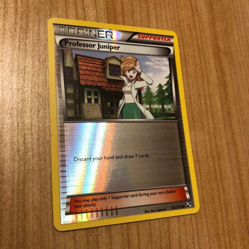 Professor Juniper 101//114 Black /& White Base  Uncommon Mint//NM  Pokemon
