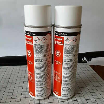 2 Cans Pioneer Eclipse Baseboard Gelstripper Size 18 Oz Ea. No Cfcs