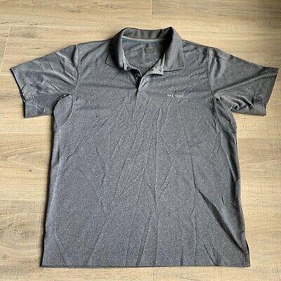 Columbia Mens Blue Gray Polo Shirt Size Small Omni -