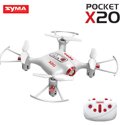 Купить Syma X20 Pocket Drone 2.4Ghz Mini RC Quadcopter Headless Mode Altitude Hold