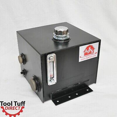 Tool-tuff 7-gallon Hydraulic Fluid Reservoir Tank Side Vertical-mount Wtemp