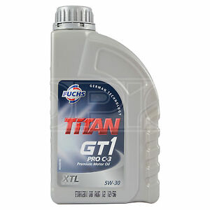 fuchs titan gt1 pro c 3 xtl 5w 30 engine oil 1 litre 5w30. Black Bedroom Furniture Sets. Home Design Ideas