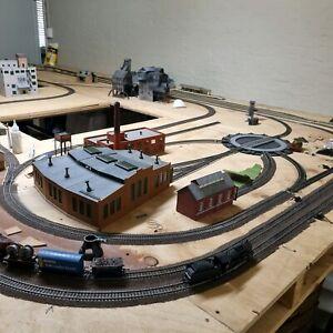 Model Train layout.