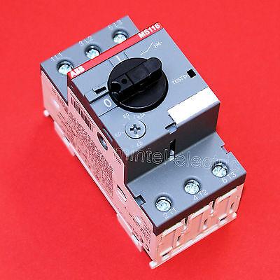 ABB Motorschutzschalter  MS116-6.3 einstellbar 4,0...6,3 A
