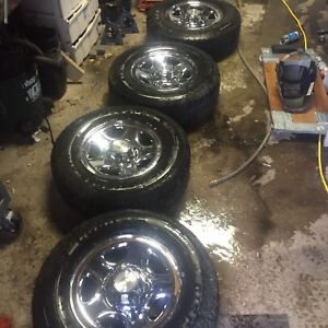 Chevy/gmc 1500 rims and tires