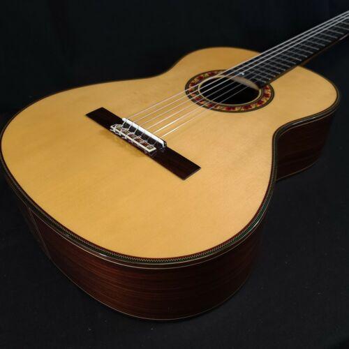 Jose Ramirez Spruce Guitarra del Tiempo Studio Classical Nylon String Guitar w/