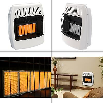 18,000 btu vent free infrared lp wall heater   propane liquid heating indoor new