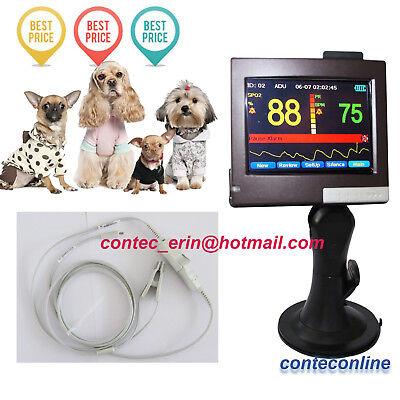 Vet Veterinary Pulse Oximeter Spo2 Monitor Sleep Study Pc Software 2g Card
