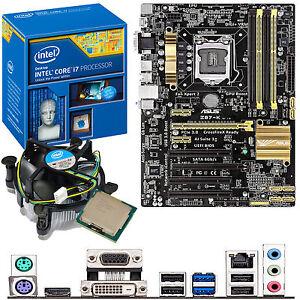 INTEL-Core-i7-4770K-3-5Ghz-ASUS-Z87-K-Motherboard-CPU-Bundle