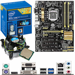 INTEL Core i7 4770K 3.5Ghz & ASUS Z87-K - Motherboard & CPU Bundle