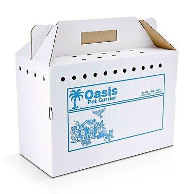 Disposable Cardboard Pet Carrier, (Disposable Cardboard)