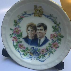 Collector's Royal Albert Trinket Dish.  Royal Marriage 1986 Claremont Nedlands Area Preview
