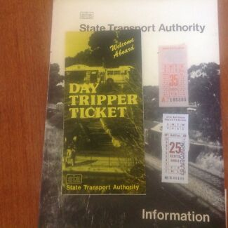 Train information booklet STA Darlington Morphett Vale Area Preview