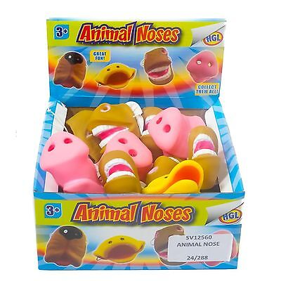 Animal Noses Mask Funny Pull On Pet Fancy Dress Party Pig Comedy Horse Duck Dog