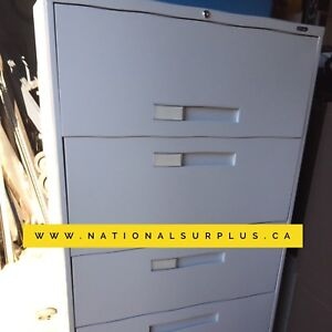 Lateral filing cabinet, 5 Drawer