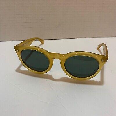 Vintage DKNY Sunglasses Bausch & Lomb Soho Hollywood Glam Round