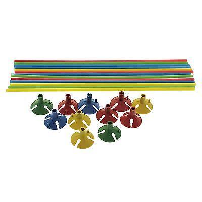 30pcs Plastic Cup Stick Randomly Support Holder for Ballon Wedding Supply Decor - Ballon Holders