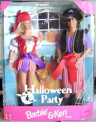 BARBIE & KEN HALLOWEEN PARTY PIRAT GIFT SET 1998 NRFB  ()