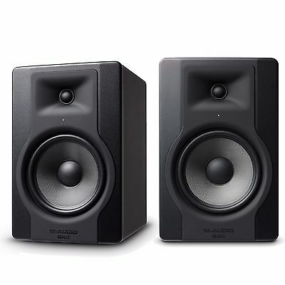 M-Audio BX8 D3 Active Powered Studio Monitors Pair Limited offer - 3 pairs only