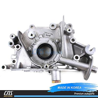 (NEW Engine Oil Pump Fits 06-11 Hyundai Accent Kia Rio Rio5 1.6L OEM 21310-26801)