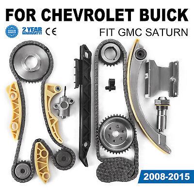 Timing Chain Kit For Chevrolet Malibu 8-13 Equinox 10-15 Buick L4 2.0L 2.2L 2.4L