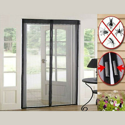 NEW MAGIC CURTAIN DOOR MESH – MAGNETIC HANDS FREE FLY MOSQUITO BUG INSECT SCREEN