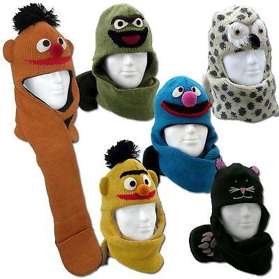 Schalmütze / Mütze / Wintermütze z.B als Ernie und Bert von der Sesamstraße