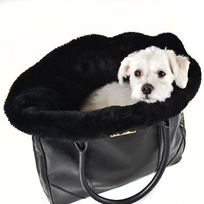 Dogs of Glamour Black Plush Insert Dog Blanket SALE
