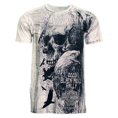 2020 Sturgis Harley-Davidson® Men's Skull Eagle 80th Rally T-Shirt