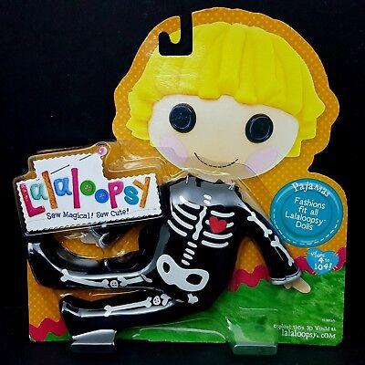 Lalaloopsy Doll Clothes Skeleton Pajamas Costume Patch Treasure Hunt Pirate - Lala Loopsy Costumes