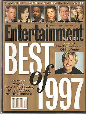 ENTERTAINMENT WEEKLY, Best of 1997, Hanson, Ellen, Harrison Ford, Jan 2,
