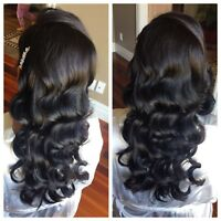 Bridal Hairstylist (Updos & Style) Mobile Calgary