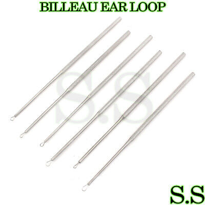 6 Pieces Of Billeau Ear Loop Small Medium Large Ent Instruments