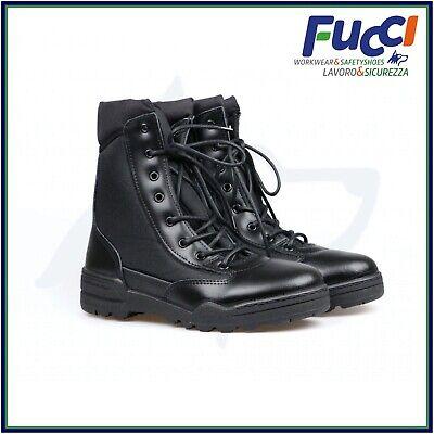 Vantech Anfibi Stivali Magnum da lavoro Uomo Donna Boot Militari Made in Italy