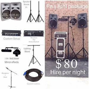 Northern lights & Sound Hire Baulkham Hills The Hills District Preview