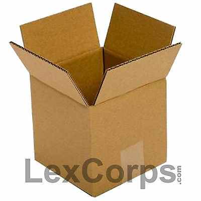 25 Qty 5x5x5 Shipping Boxes Standard