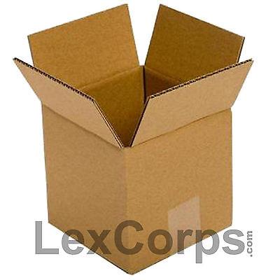 25 Qty 5x5x5 Shipping Boxes Standard