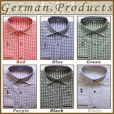 Traditional Oktoberfest Colors (German Bavarian Trachten Lederhosen Shirts Oktoberfest,Traditional,( All)