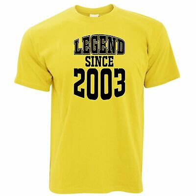 Sixteen Birthday Ideas (16th Birthday T Shirt Legend Since 2003 Slogan Sixteen Years Old Gift)