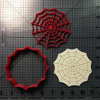 Spider Web Cookie (Spider Web Cookie Cutter and)