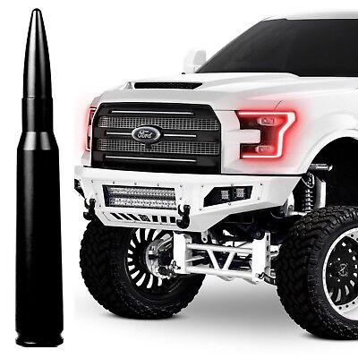Black Bullet Antenna Fits All Ford Trucks 55 Inches Short Billet Aluminum