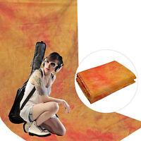Fondale Background Professionale In Cotone Creato A Mano Dynasun W094 Orange - orange - ebay.it