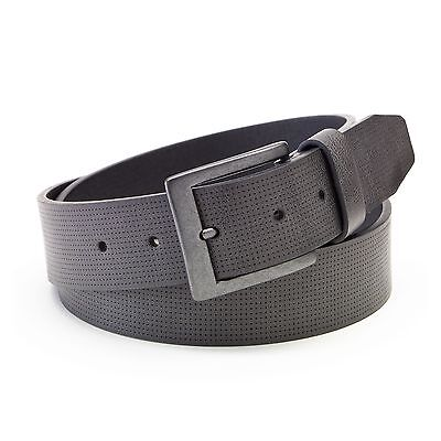 New Tony Hawk Subtle Perforated Synthetic Leather Belt Gray Size S,M,L MSRP $24