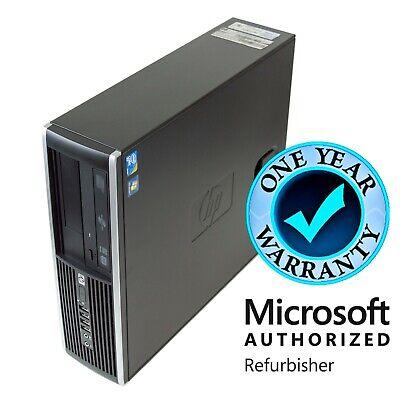FAST Hp Windows 10 Desktop Computer PC Intel Dual Core i5 3.2Ghz 8GB Large 1TB