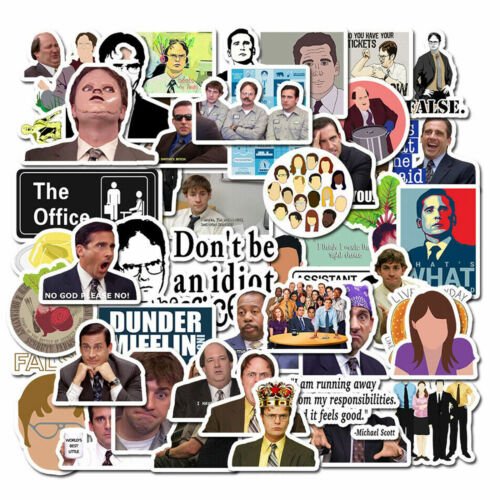 20pcs The Office TV Show Stickers Dwight Jim Stanley Vinyl Buy 2 Get 1 Free