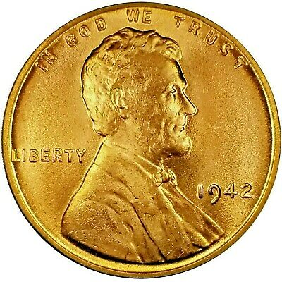 """UNCIRCULATED 1941 D Lincoln Wheat 1c/""""STUNNING/""""CHOICE BU//RD from OBW roll.99c S/&H"""