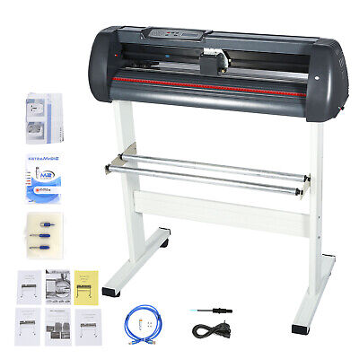 Us Stock 34 Cutter Vinyl Cutter Plotter Sign Cutting Machine 870mm